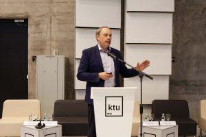 KTU Rector Prof Eugenijus Valatka elected the President of Lithuanian University Rectors' Conference