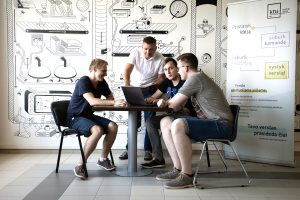 KTU Startup Space, the first academic startup incubator in Lithuania